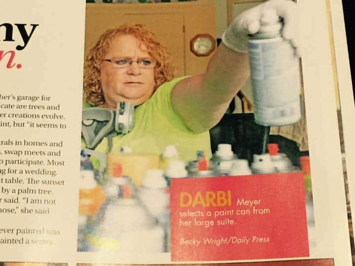 Darbi's Spray Paint Art-icle