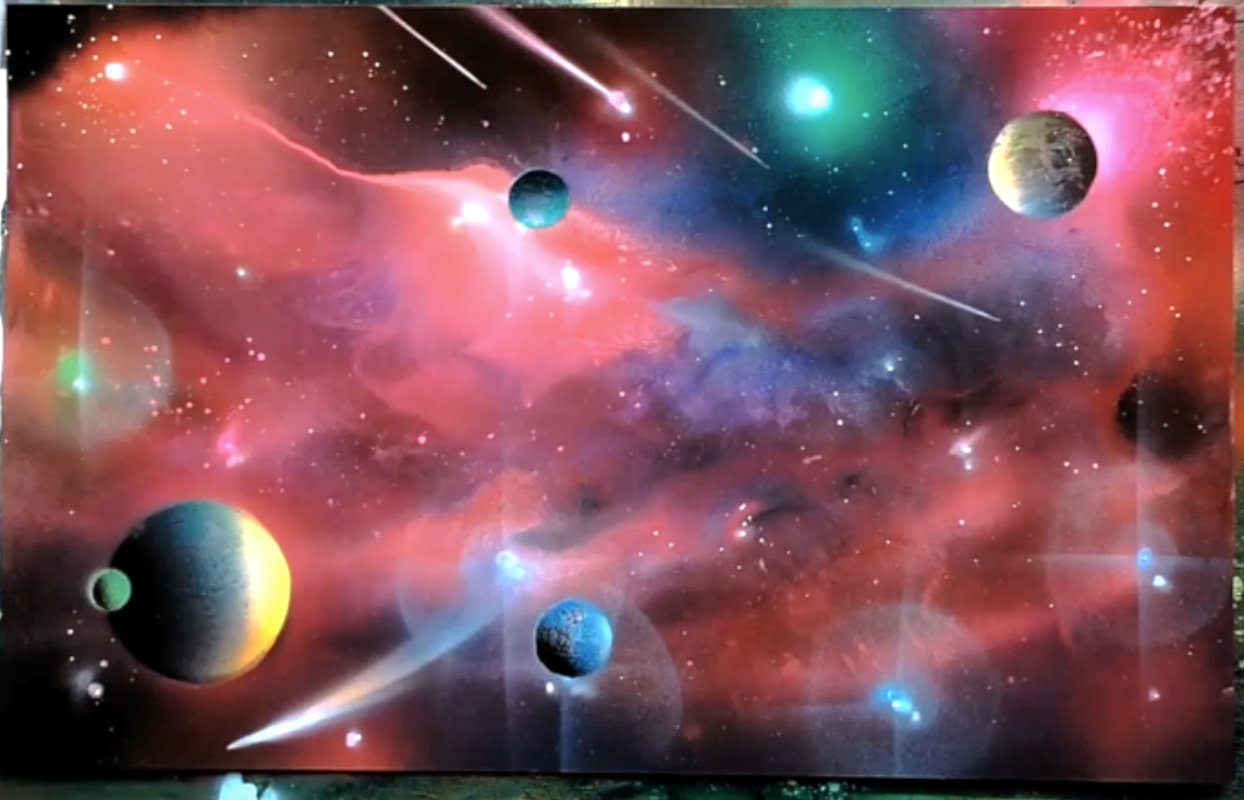 Spray Paint Art and Airbrush Setup