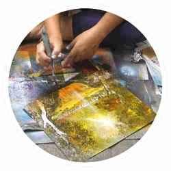 Peinture à l'aérosol