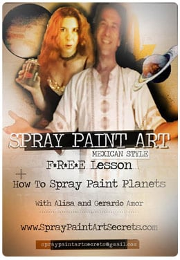 Spray Paint Art Tutorial