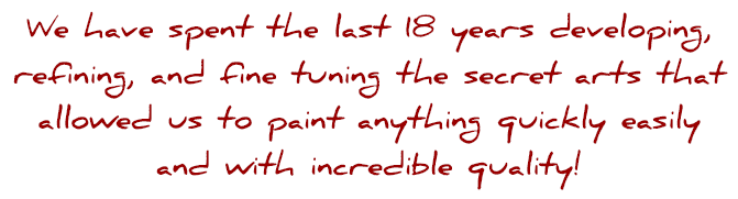 we have spray paint art